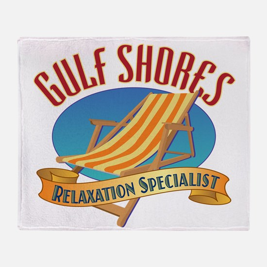 Gulf Shores - Throw Blanket