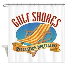 Gulf Shores - Shower Curtain
