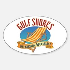 Gulf Shores - Decal