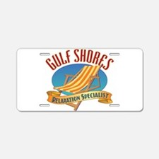 Gulf Shores - Aluminum License Plate