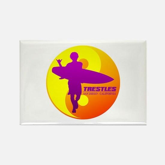 Trestles (Surfing) Magnets