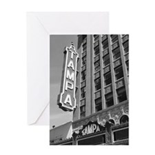 Tampa Theatre Florida Historic Theat Greeting Card