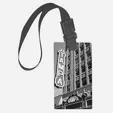 Tampa Theatre Florida Historic T Luggage Tag