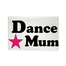 Dance Mum Rectangle Magnet