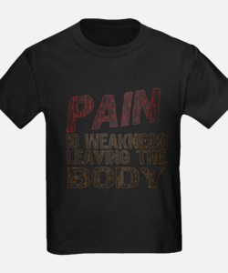 Pain is Weakness T