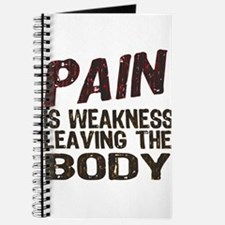 Pain is Weakness Journal