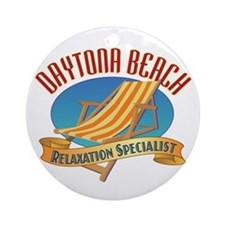 Daytona Beach - Ornament (Round)