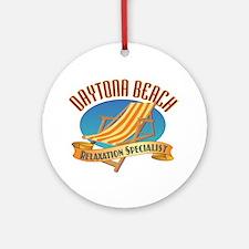 Daytona Beach - Ornament (Round)
