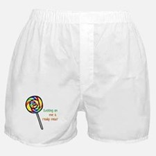 Cute Lollipop Boxer Shorts