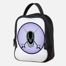 Fencing Logo Neoprene Lunch Bag
