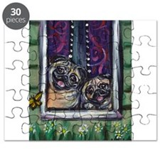 Window Happy Pugs Puzzle