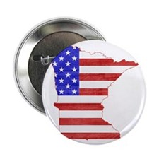 "Minnesota Flag 2.25"" Button"