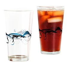 Making Wave Swimming Drinking Glass