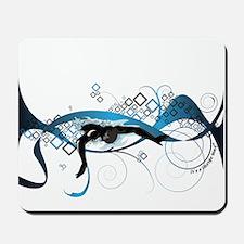 Making Wave Swimming Mousepad