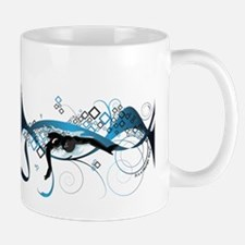 Making Wave Swimming Mug