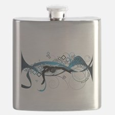 Making Wave Swimming Flask