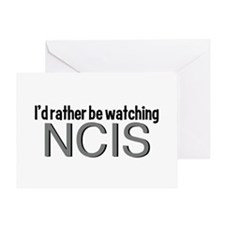 Rather Watch NCIS Greeting Card