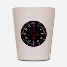 Flight Instruments Shot Glass