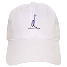 B yourself Purple Giraffe Baseball Baseball Cap
