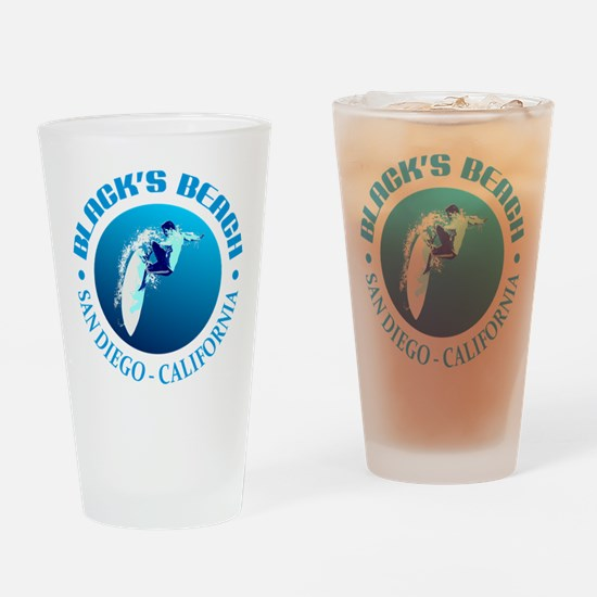 Black's Beach Drinking Glass