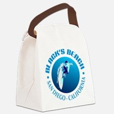 Black's Beach Canvas Lunch Bag