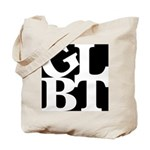 GLBT Black Pop Tote Bag