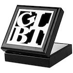 GLBT Black Pop Keepsake Box