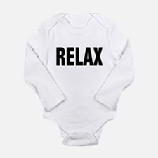 Frankie Says RELAX Retro 80s Infant Creeper Body S