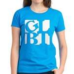 GLBT White Pop Women's Dark T-Shirt