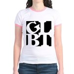 GLBT Black Pop Jr. Ringer T-Shirt