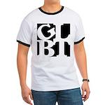 GLBT Black Pop Ringer T
