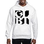 GLBT Black Pop Hooded Sweatshirt