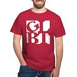 GLBT White Pop Dark T-Shirt