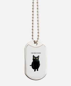 I See Dead Mousies Dog Tags