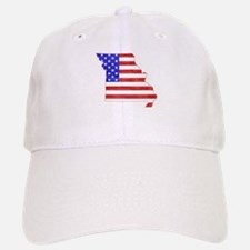 Missouri Flag Baseball Baseball Cap