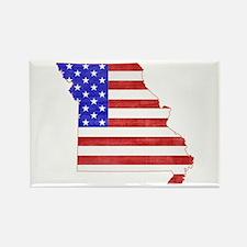 Missouri Flag Rectangle Magnet