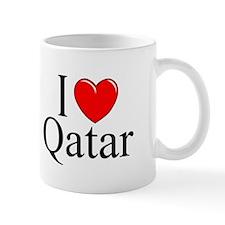 """""""I Love Qatar"""" Mug"""