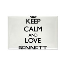 Keep calm and love Bennett Magnets