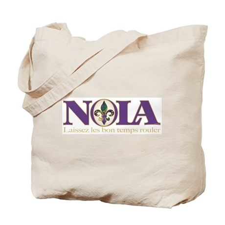NOLA Mardi Gras Tote Bag