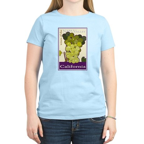 Wines of the Napa Valley, Cal Ash Grey T-Shirt