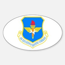 USAF Education & Training Command Oval Decal