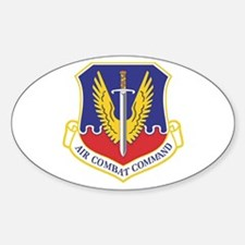 USAF Air Combat Command Oval Bumper Stickers