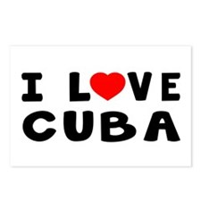 I Love Cuba Postcards (Package of 8)