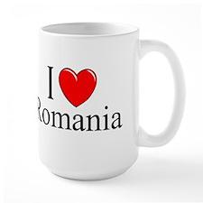 """""""I Love Romania"""" Mug"""