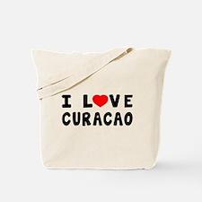 I Love Curacao Tote Bag