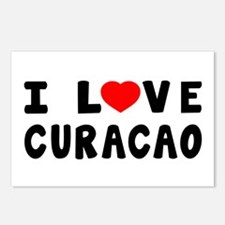 I Love Curacao Postcards (Package of 8)