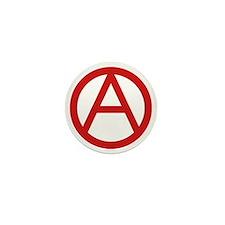 Anarchy Symbol Mini Button