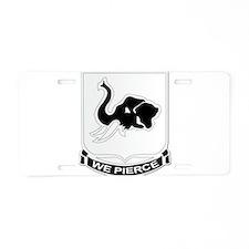 DUI - 1st Bn - 64th Armor Regiment Aluminum Licens
