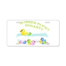 Ducky Aluminum License Plate