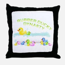 Ducky Throw Pillow